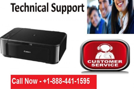 Printers Help - Canon Printer Tech Support Phone Number, USA | +1-888-441-1595 Infographic