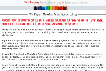 Process Consulting Company Infographic