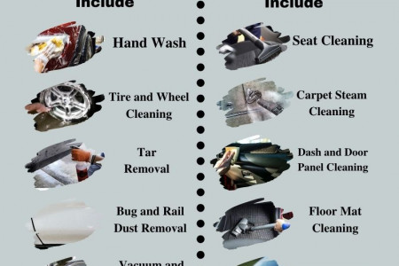 Professional Car Detailing in Langley, Canada Infographic