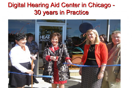 Professional Hearing Health Center in Chicago Infographic