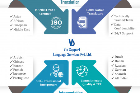 Professional Language Services Infographic