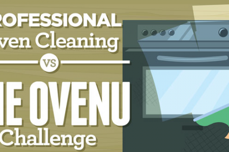 Professional Oven Cleaning Vs DIY : The Ovenu Challenge Infographic