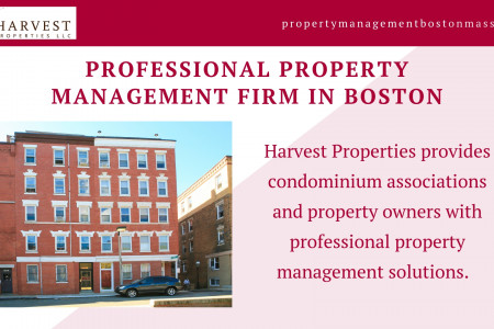 Professional Property Management Firm In Boston Infographic