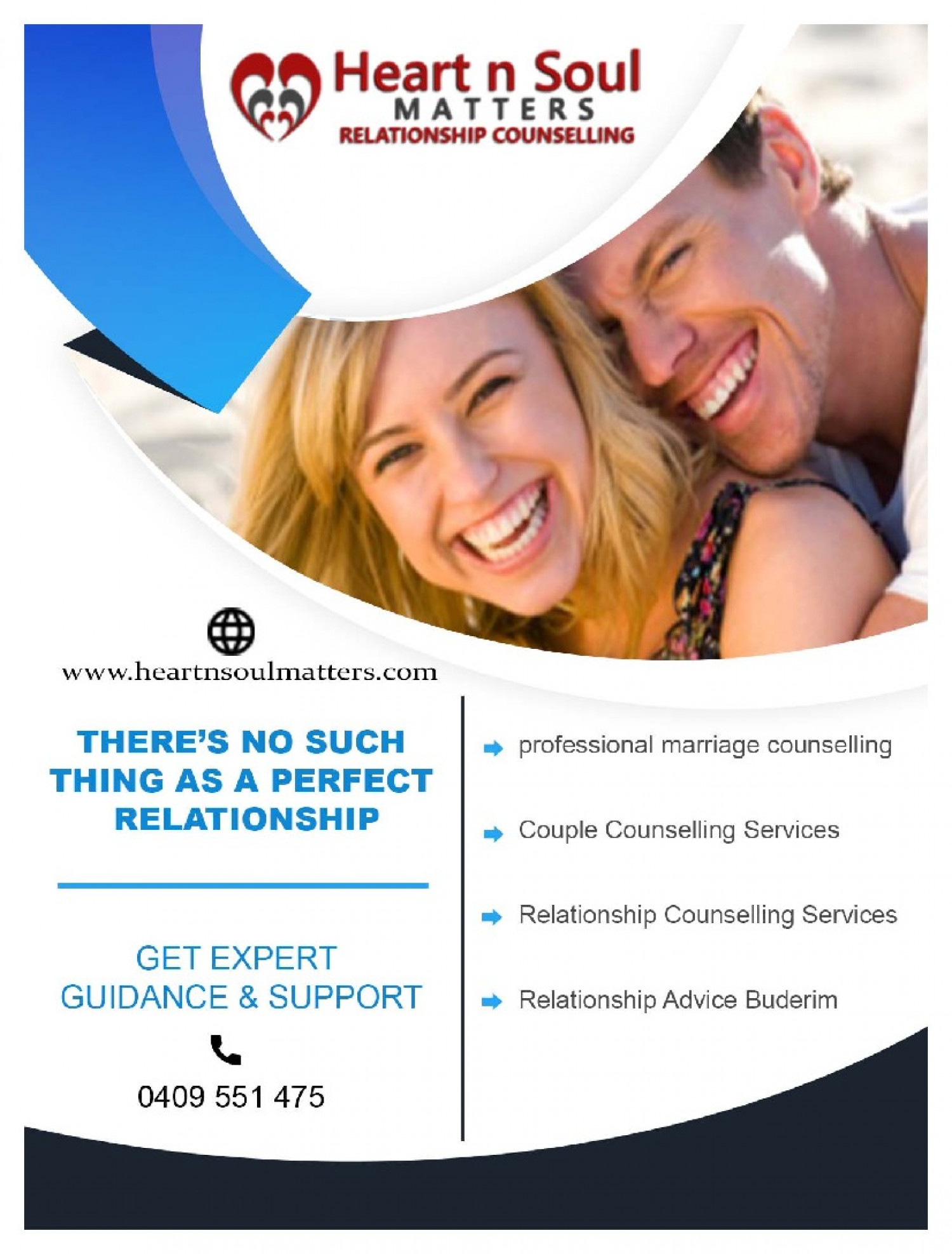Professional Relationship Counselling in Brisbane Infographic