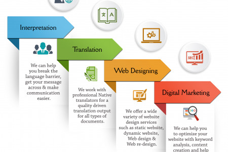 Professional Services - Vie Support Infographic