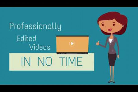 Professional Video Editing Services - Unlimited edits, unlimited revisions, one flat rate Infographic