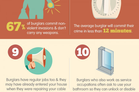Profile Of A Burglar Infographic