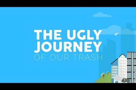 Project Aware - The Ugly Journey of Our Trash Infographic