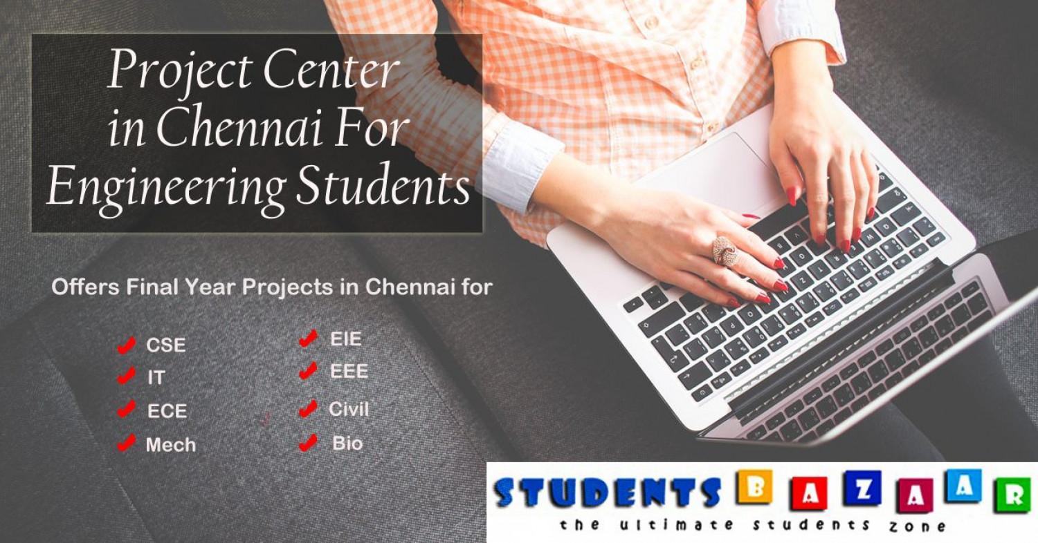 Project Center in Chennai Infographic