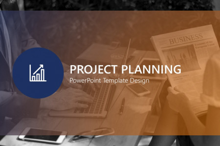 Project Planning PowerPoint Template | Free Download  Infographic