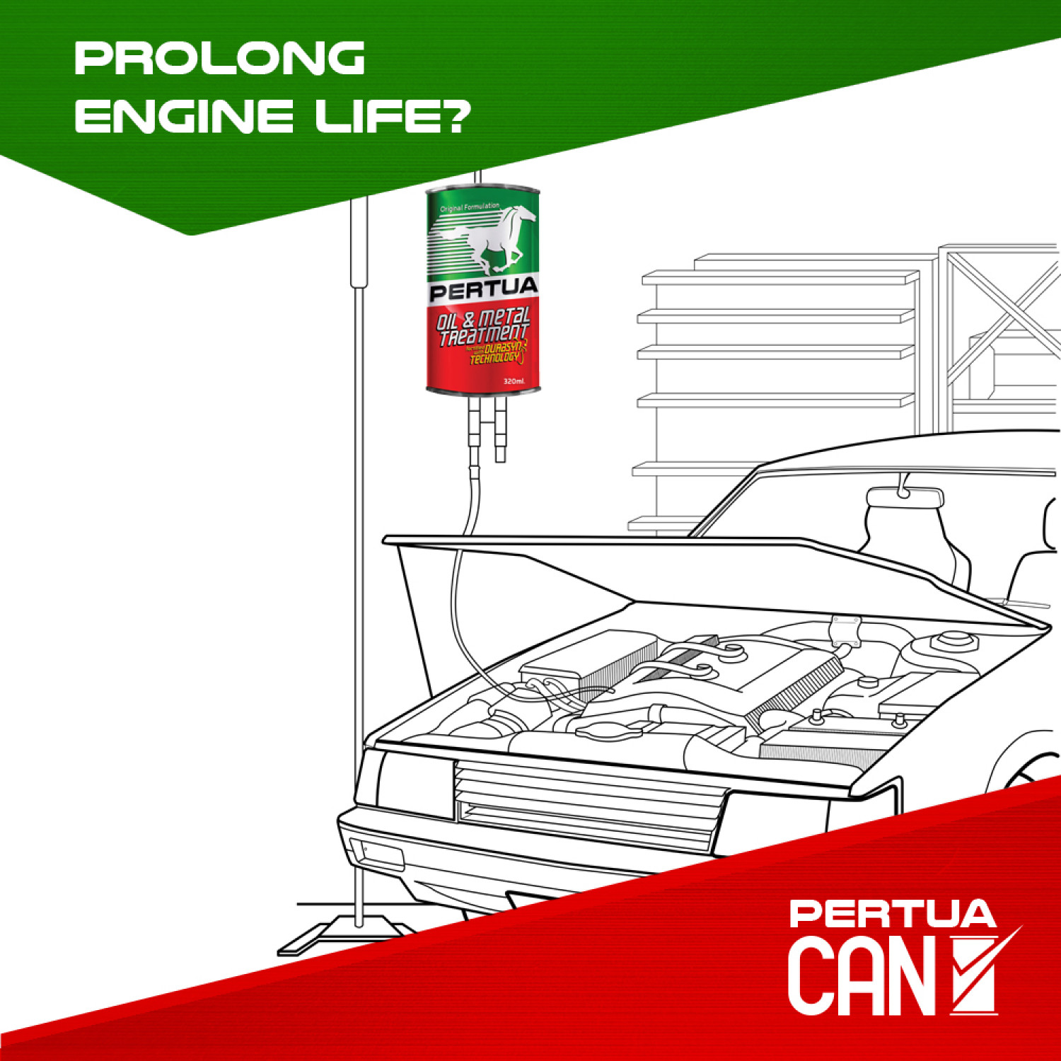 Prolong Engine Life Infographic