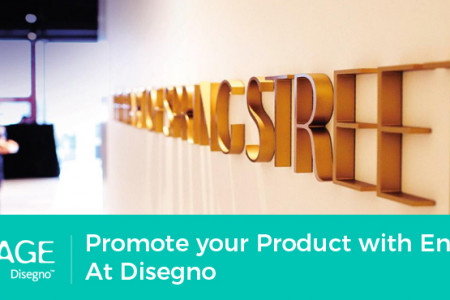 Promote your Product with Engage At Disegno Infographic
