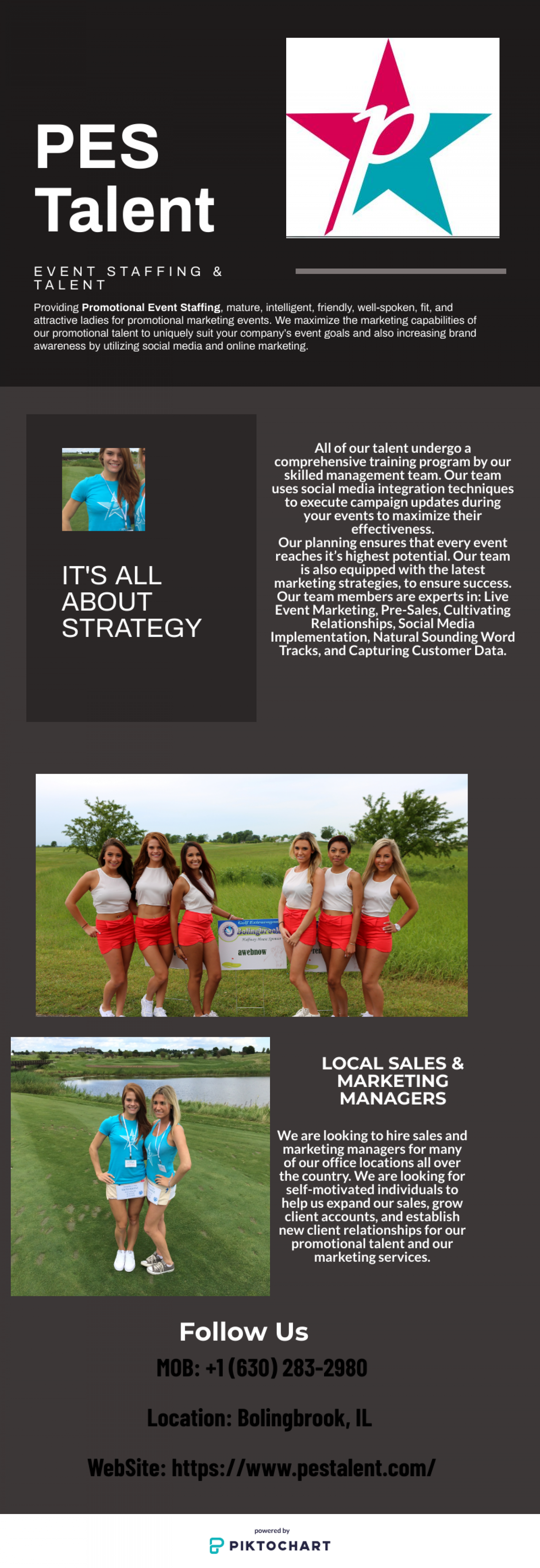 Promotional Event Staffing Infographic