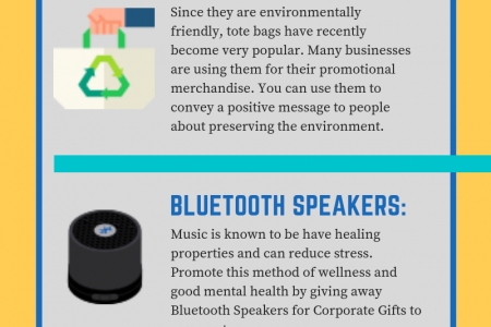 Promotional Products Spreading Positivity Infographic