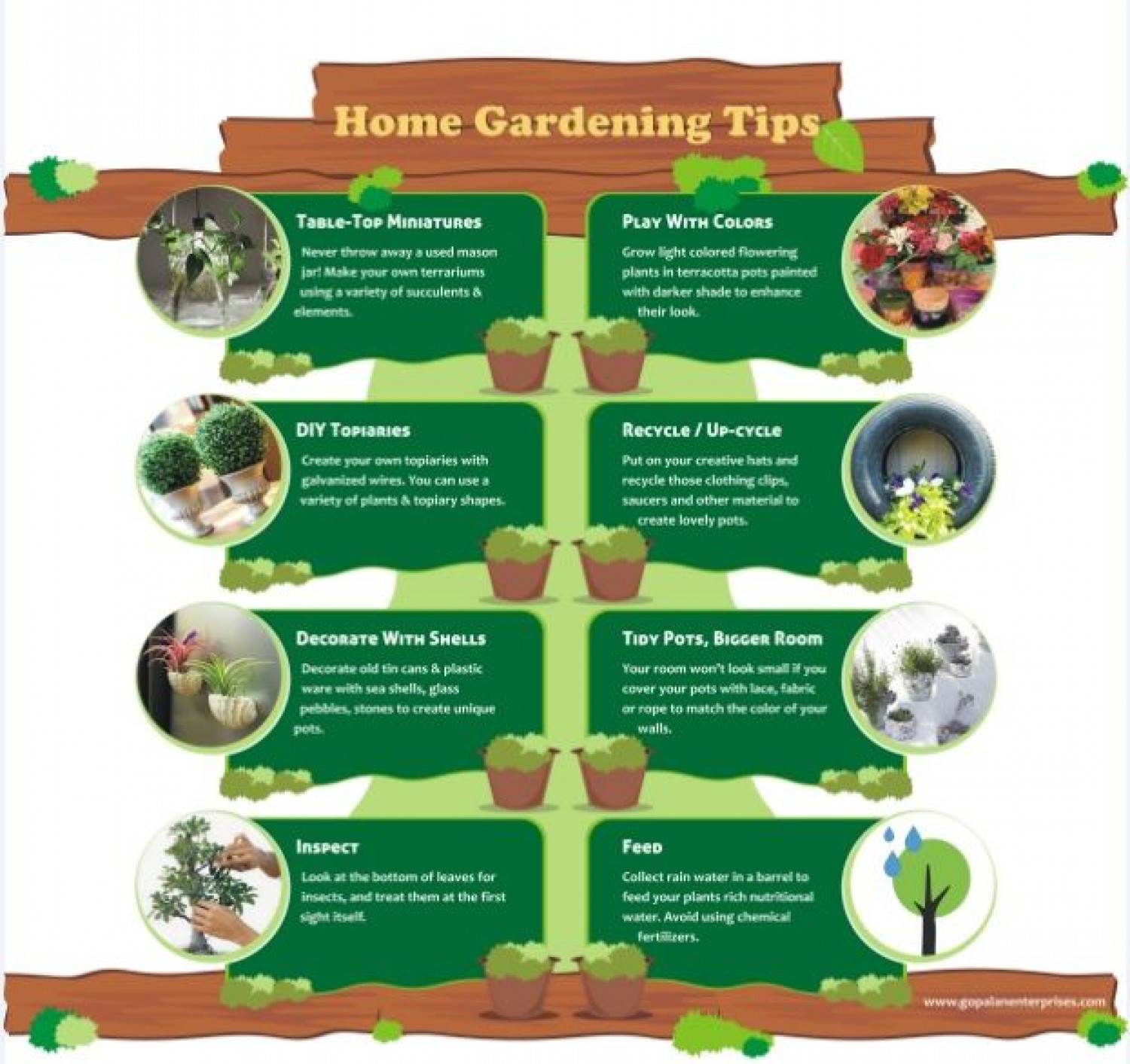 Superieur Properties In Bangalore   Home Gardening Tips Infographic