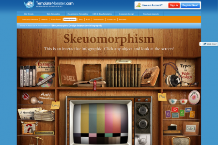 Pros and Cons of Skeuomorphism (Infographics) Infographic