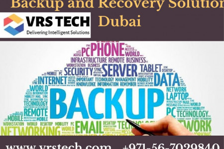Protect with System with Backup Installation Dubai Infographic