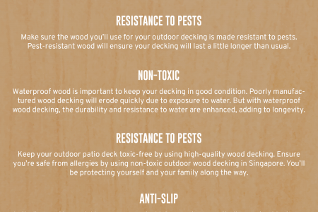 Protecting your Outdoor Environment with Wood Decking in Singapore Infographic