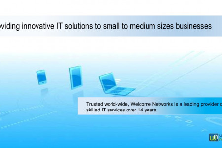 Providing innovative IT solutions to small to medium sizes businesses Infographic