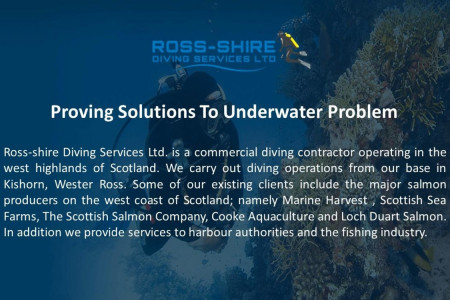 Proving Solutions To Underwater Problem Infographic