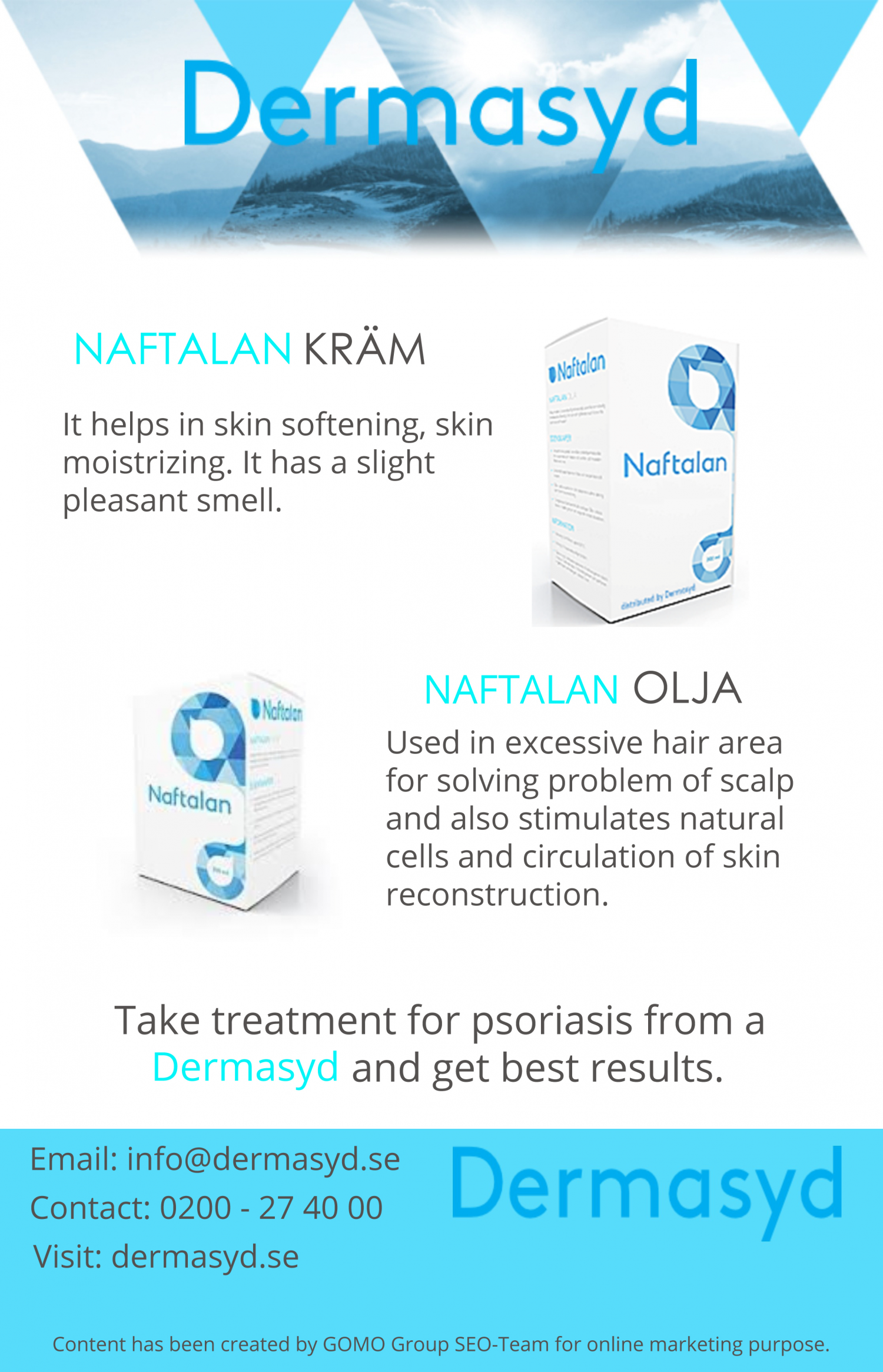 Psoriasis Treatment Infographic