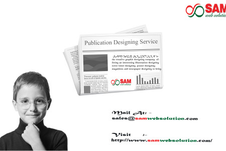 Publication Designing Service Provider in India Infographic