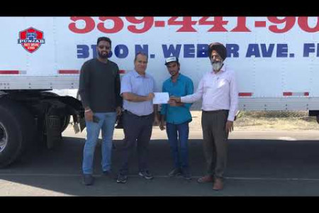 Punjab Truck Driving School In California Infographic