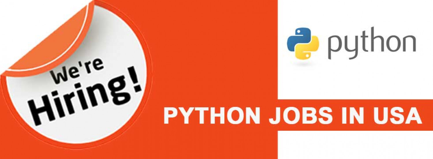 Python Jobs in USA Infographic