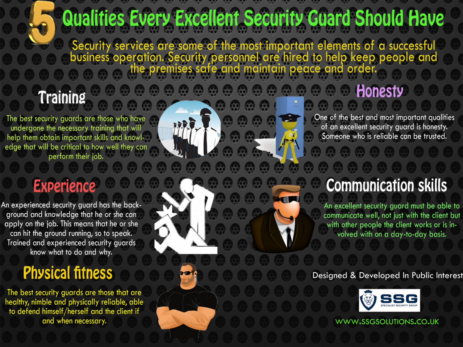 Qualities of a security officer
