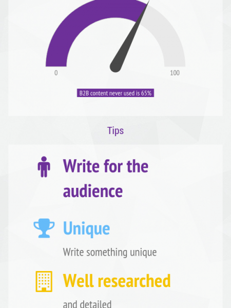 Quality Content and Content Marketing 101 - Interactive Infographic Infographic