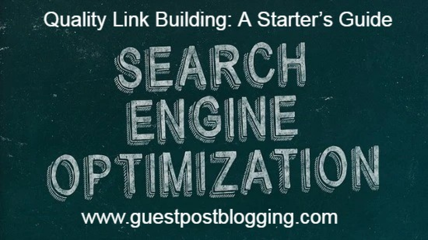 Quality Link Building: A Starter's Guide Infographic
