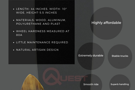 Quest Super Cruiser Artisan Bamboo Infographic