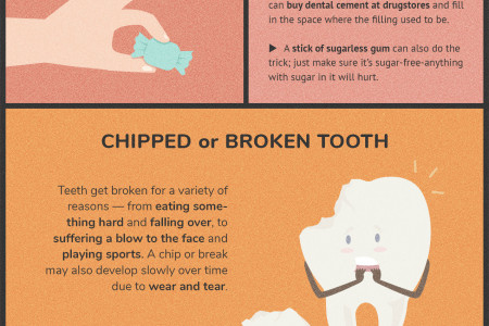 Quick and Easy Tips for Handling Common Dental Emergencies Infographic