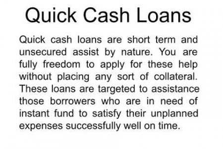 Quick Cash Payday Loans Today Get Approved Money Advance Infographic