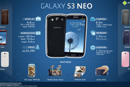 Quick Facts: Samsung Galaxy S3 Neo Infographic