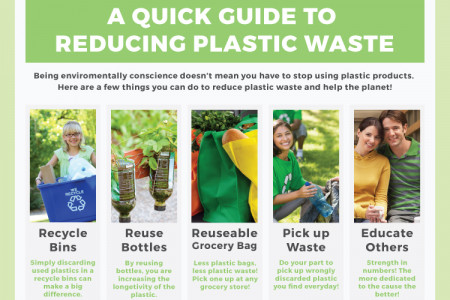 Quick Guide to Reducing Plastic Waste Infographic