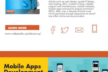 Quick Services For Web Design Infographic