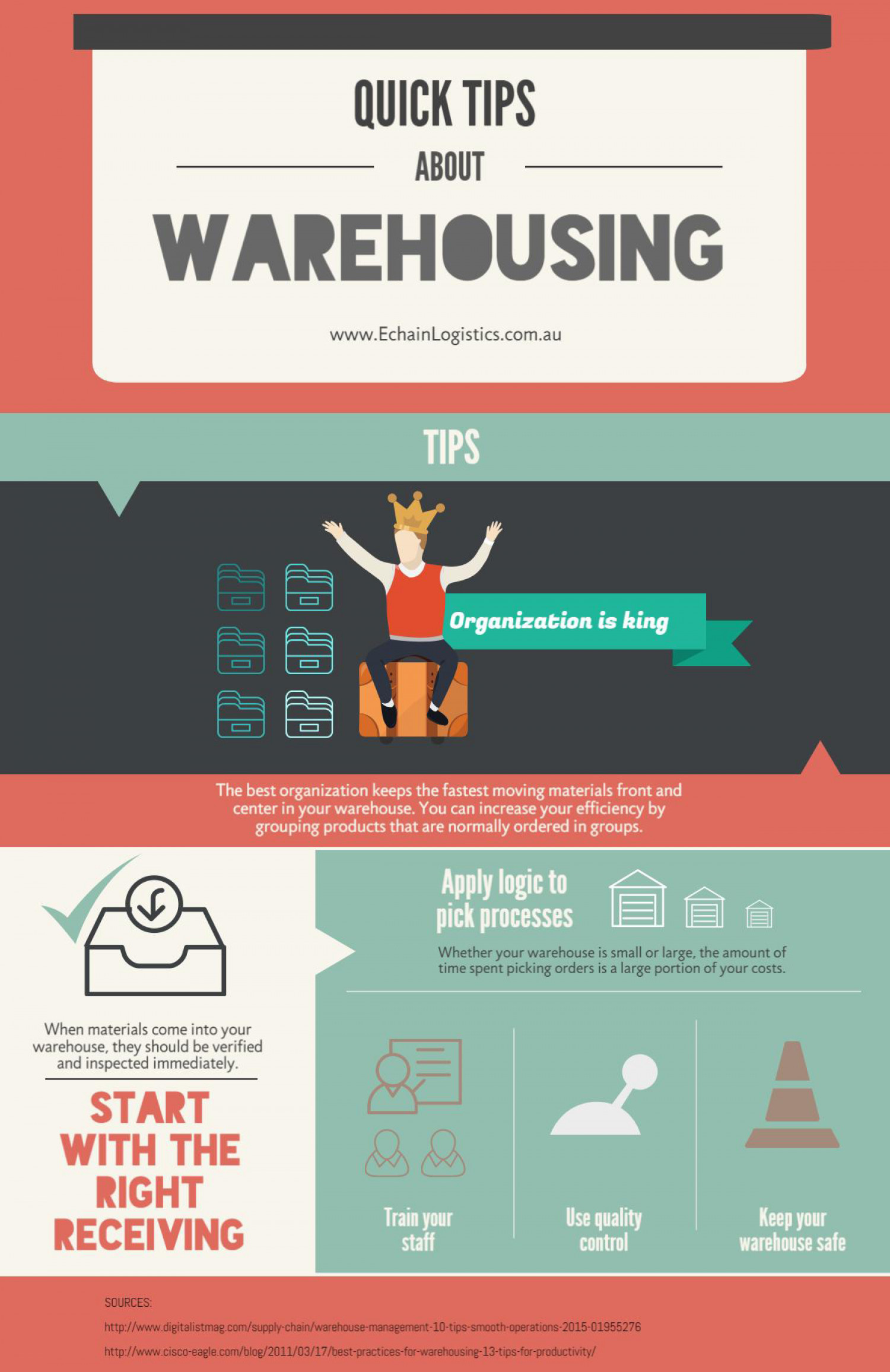Quick Tips About Warehousing  Infographic