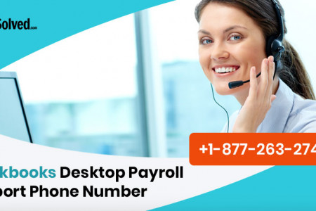 Quickbooks Payroll Support Number USA Infographic
