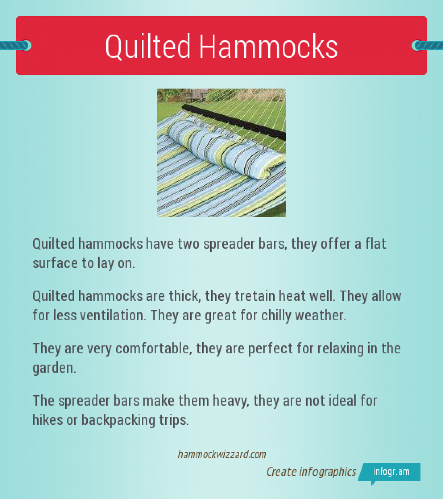 Quilted Hammocks Infographic