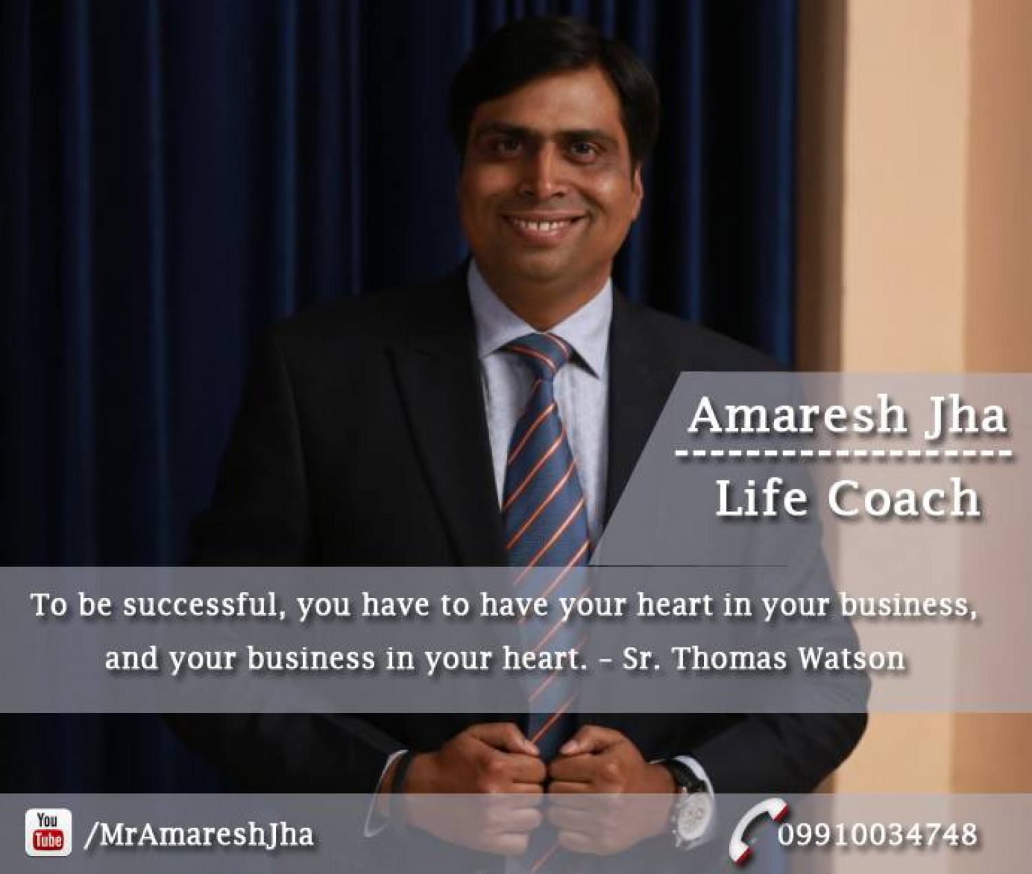 Quote for Success Business | Motivational Speaker Infographic