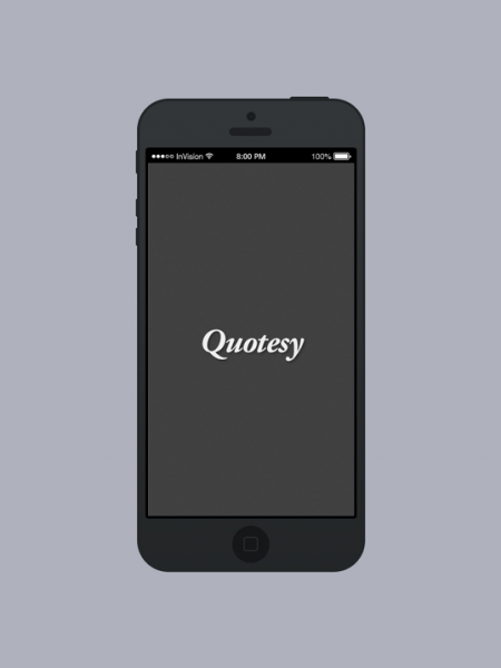 Quotesy App Infographic