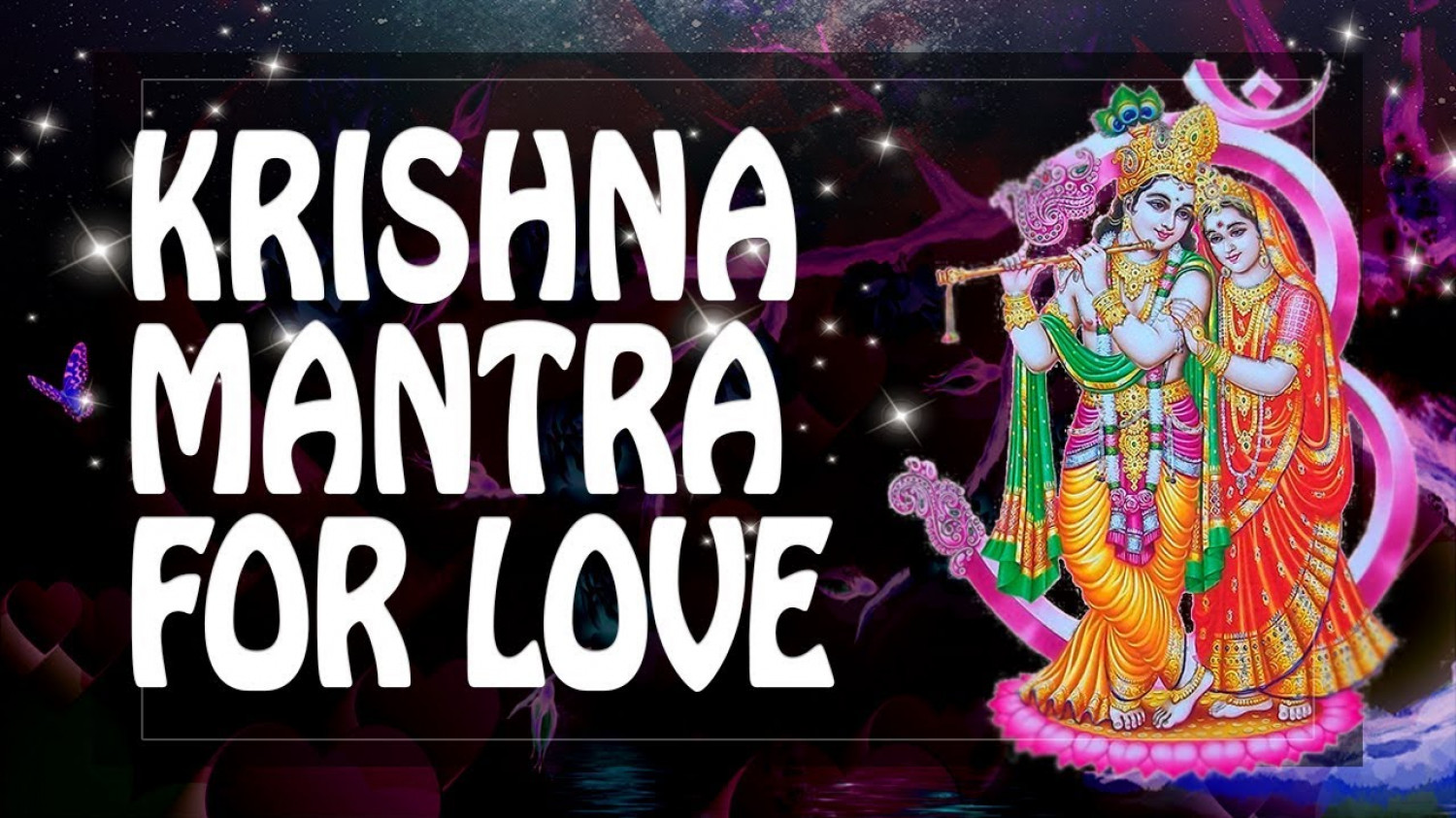 Radha Krishna Mantra For Love Marriage Success Infographic