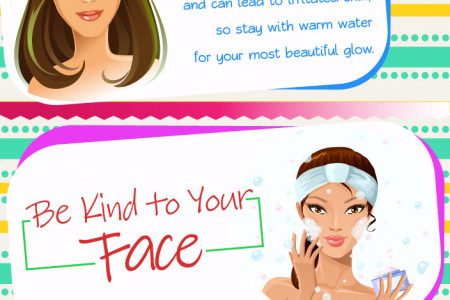 Radiant Winter Skin Infographic