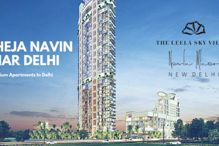 Raheja Navin Minar Luxury Apartments in Delhi Infographic