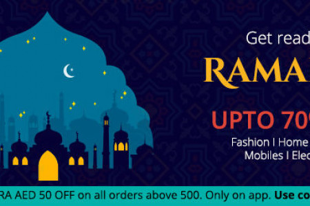 Ramadan Offer – Up to 70% Off Infographic