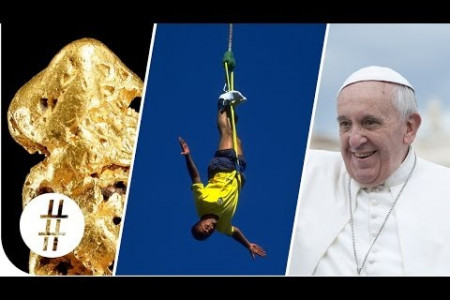 Random Numbers: Gold, Bungee Jumping & the Pope  Infographic