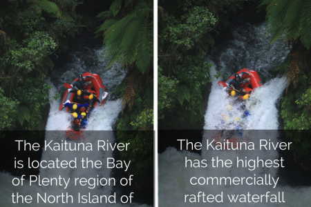 Raving the Kaituna River Infographic