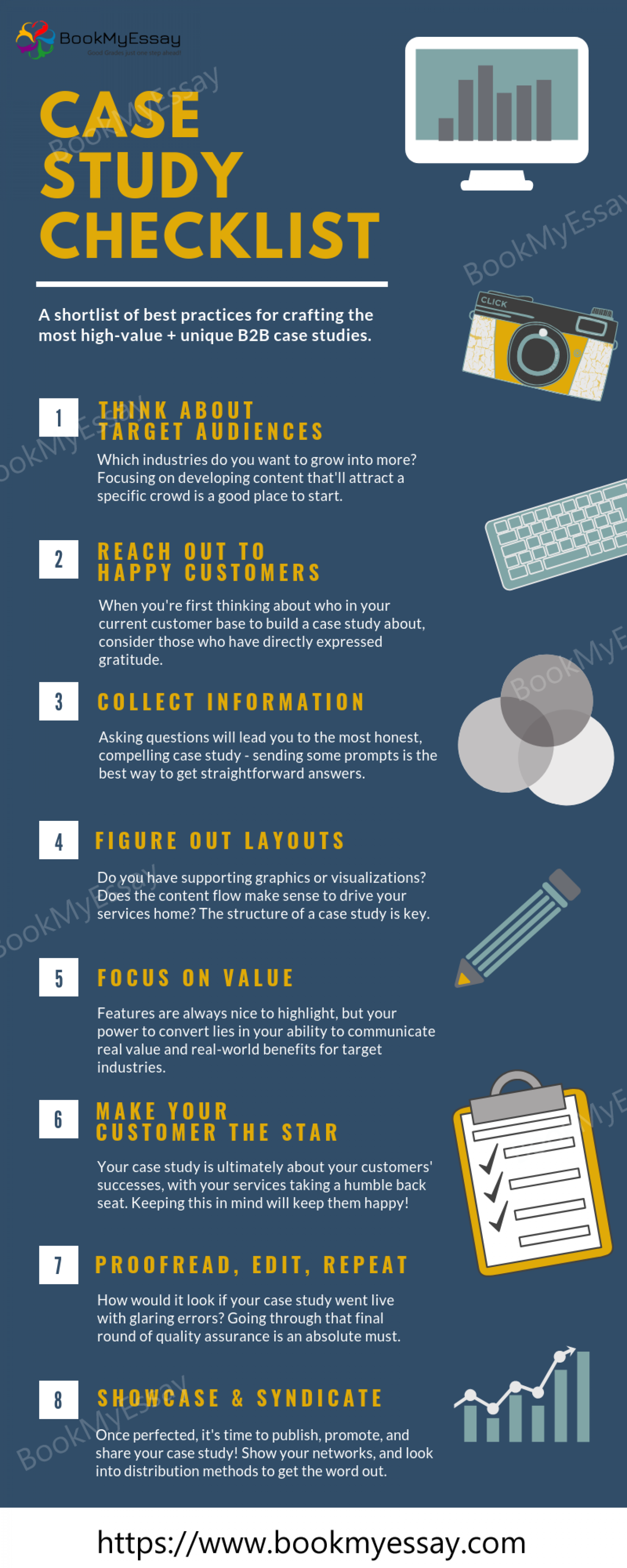 Read Case Study Checklist Infographic