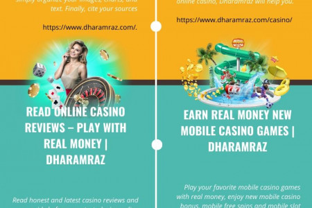 Read Online Casino Reviews – Play With Real Money | Dharamraz Infographic